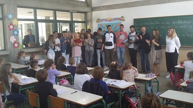 Μαθητές τού ΕΠΑΛ Τυρνάβου στο Αρσάκειο Τιράνων