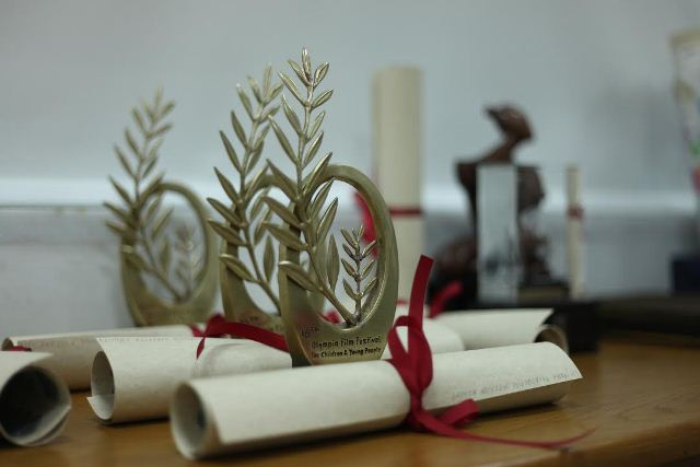 3ο βραβείο στο Διεθνές Φεστιβάλ Ολυμπίας