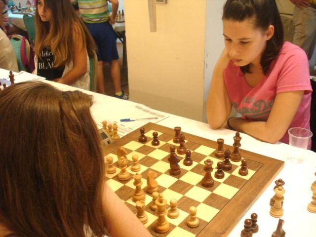 Πρωταθλήτρια Ελλάδας στο σκάκι
