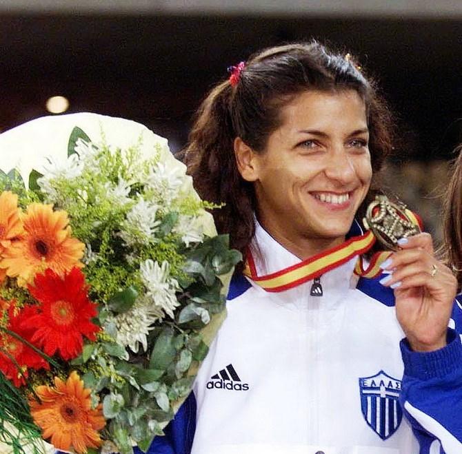 H ολυμπιονίκης Όλγα Βασδέκη στα Αρσάκεια-Τοσίτσεια Σχολεία