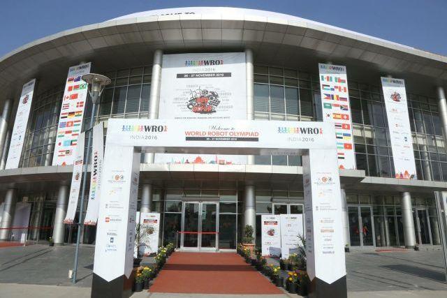Συμμετοχή στην Παγκόσμια Ολυμπιάδα Ρομποτικής στην Ινδία