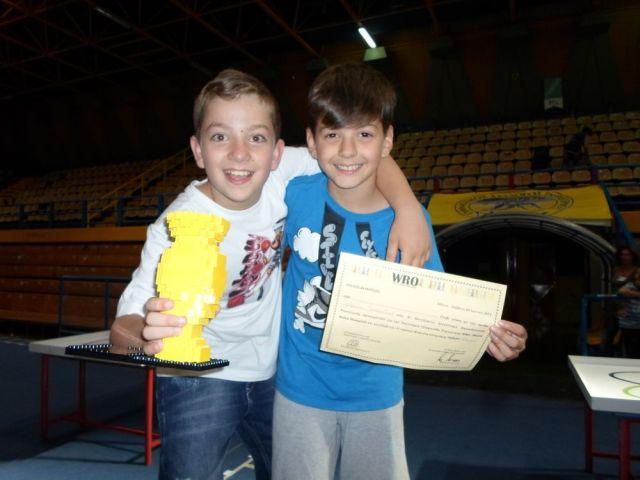 1η θέση στον Πανελλήνιο Διαγωνισμό Ρομποτικής