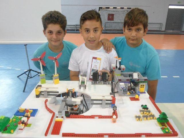 Βραβεία και διακρίσεις σε Διαγωνισμό Εκπαιδευτικής Ρομποτικής
