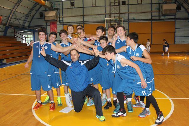 Αρσάκεια Γυμνάσια: χρυσό μετάλλιο στο μπάσκετ