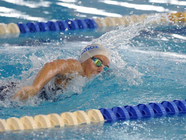 Πανελλήνια ρεκόρ στην κολύμβηση