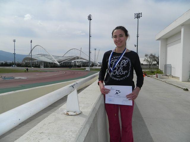 Χρυσό μετάλλιο στους αγώνες στίβου 2.000μ. στιπλ