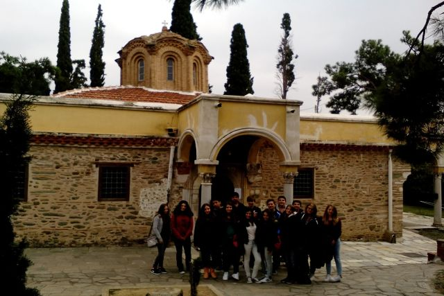 Βυζαντινός περίπατος στην Άνω Πόλη