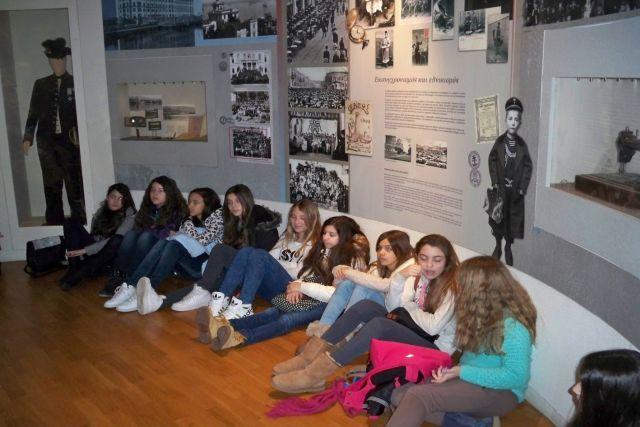 Επίσκεψη στο Μουσείο Μακεδονικού Αγώνα