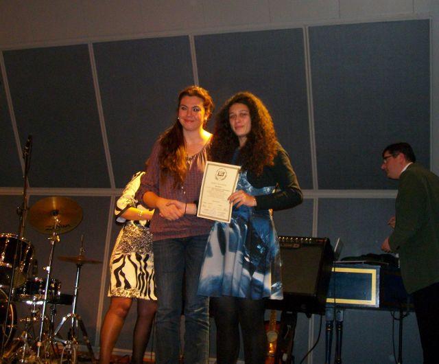 Βράβευση στον Μουσικό Διαγωνισμό τής Ένωσης Ελλήνων Λογοτεχνών