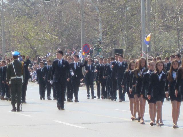 Συμμετοχή στην παρέλαση τής 25ης Μαρτίου