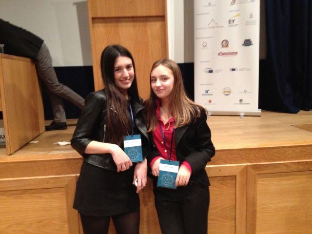 Μαθήτρια τού Λυκείου Θεσ/νίκης στο Ευρωπαϊκό Κοινοβούλιο Νέων