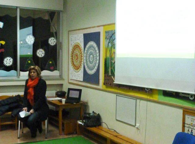 2η συνάντηση τής Απογευματινής Σχολής Γονέων